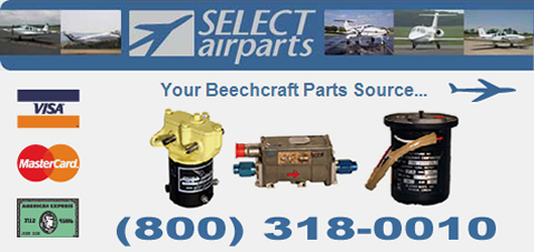 Select Airparts is one of the largest independent Beechcraft, Hawker and Raytheon parts distributors in the world. Our specialty is supplying quality OEM and PMA parts for the both the Hawker family of business jets and the complete Beechcraft line. This includes the Hawker 400, 600, 700, 800 and 1000 as well as the Beechcraft family of twin-engine corporate and executive aircraft, including the King Air (all models 90 through 350), Queen Air, Beech 99, Beech 1900, Baron, Bonanza, Duke and the Premier.