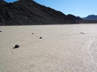 Death Valley Racetrack Playa Furnace Creek