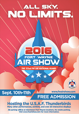 Fort Wayne Open House Airshow 2016