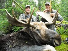 Canadian Wilderness Moose and Bear Hunting