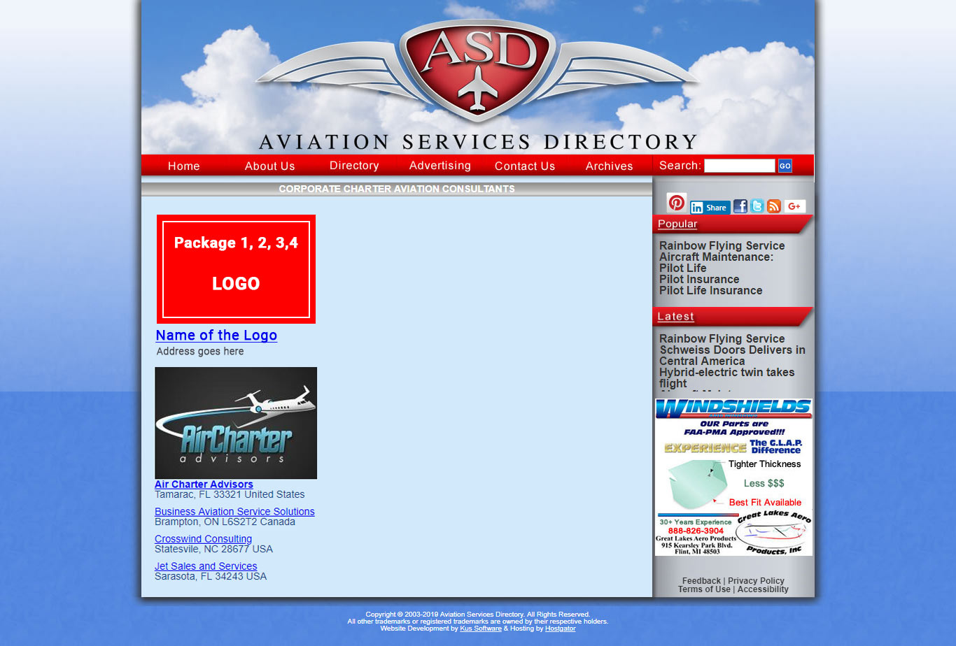 Advertising Agencies in Canada   Aircraft Classifieds
